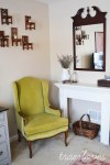 Living Room Lime Green Chair